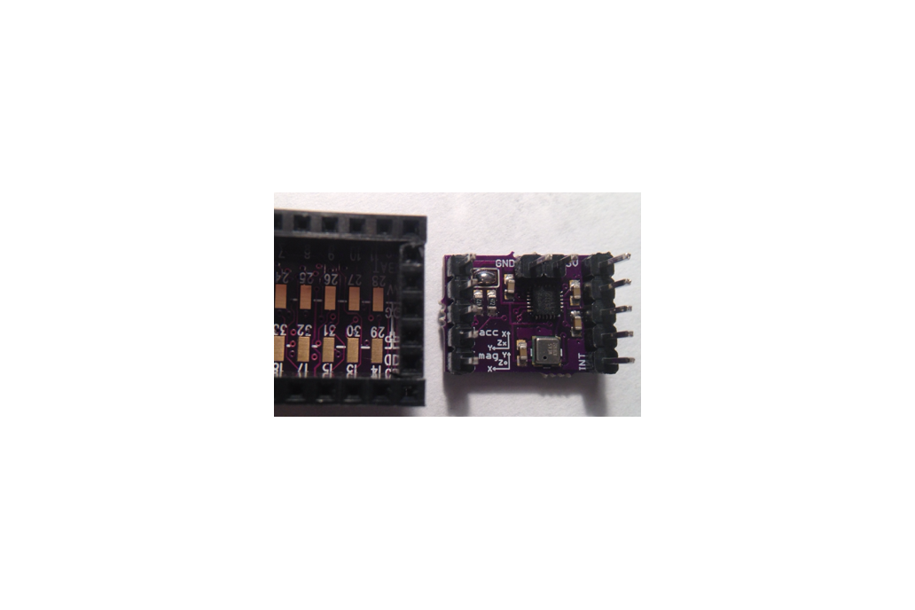 MPU9250 Teensy 3.X add-on shields 9