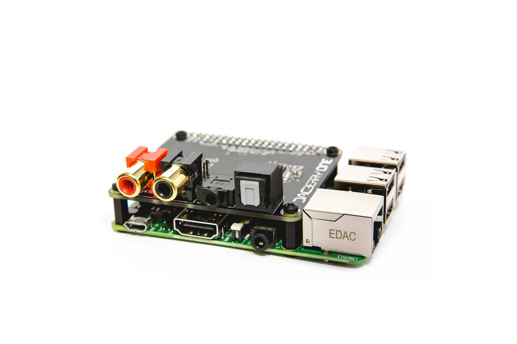 DACBerry ONE for Raspberry Pi 1
