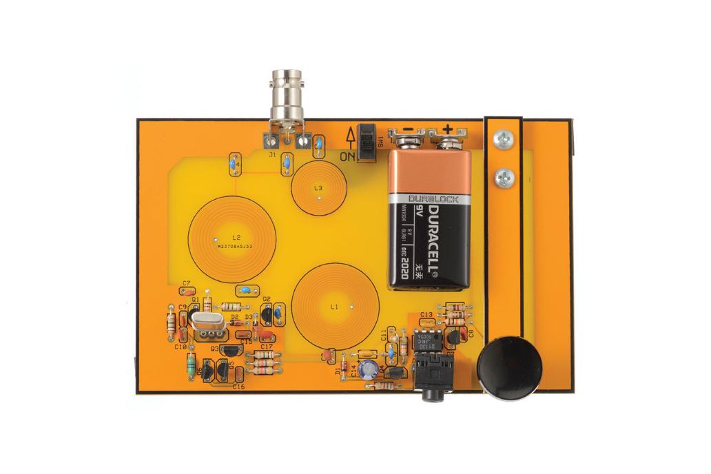 Cricket 80A - Minimalist 80M CW Transceiver 1