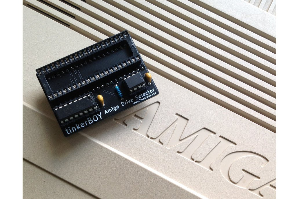 tinkerBOY Switchless Amiga Boot Drive Selector 1