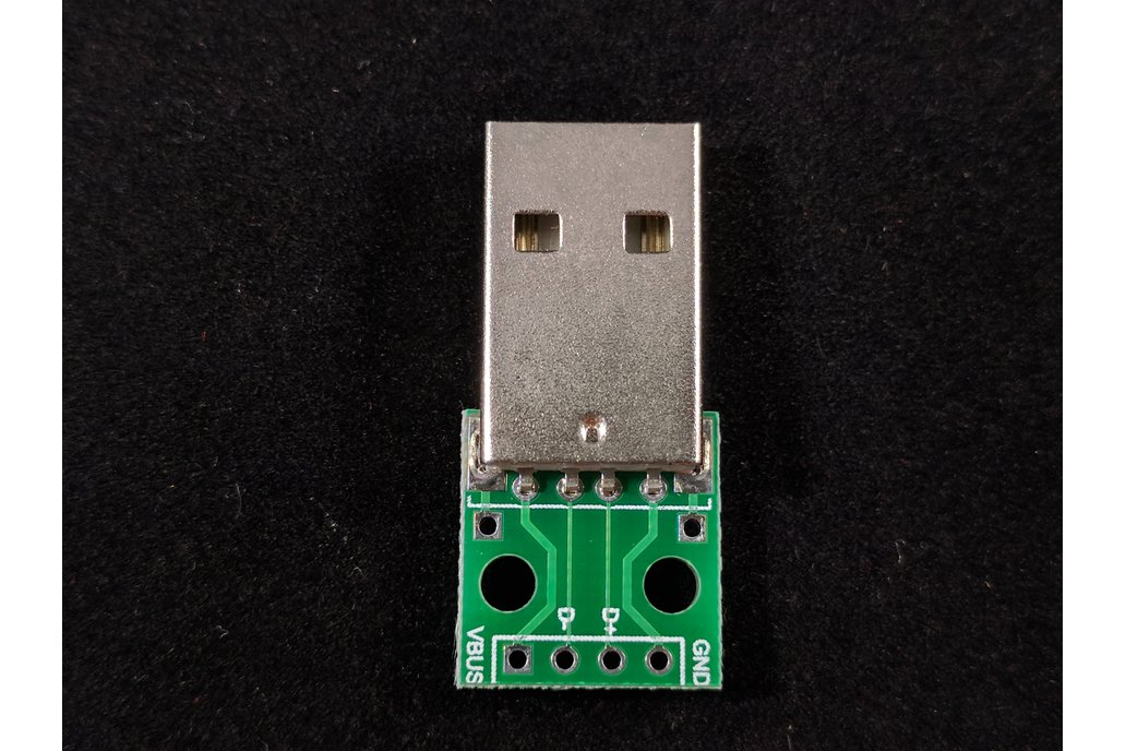 Male A-USB to DIP Adapter Converter 4 pin PCB 1