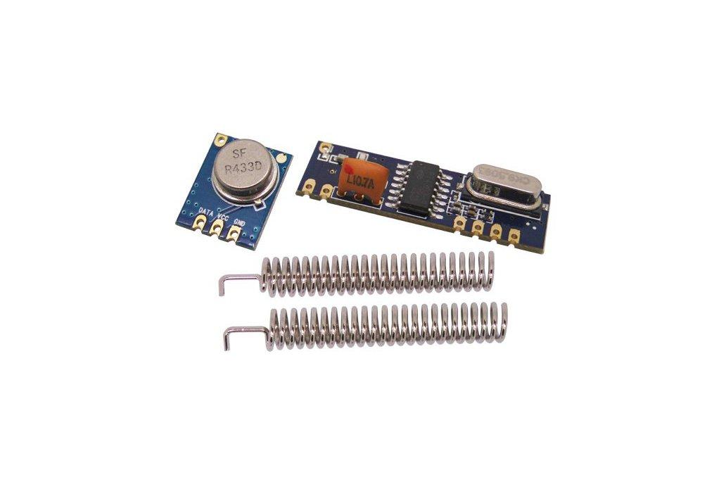 433/315 MHz ASK Transmitter & Receiver Module Kit 1