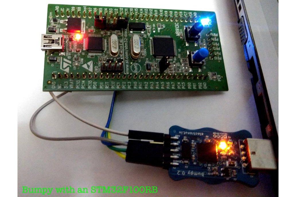 Bumpy blackmagic probe compatible SWD debugger 6