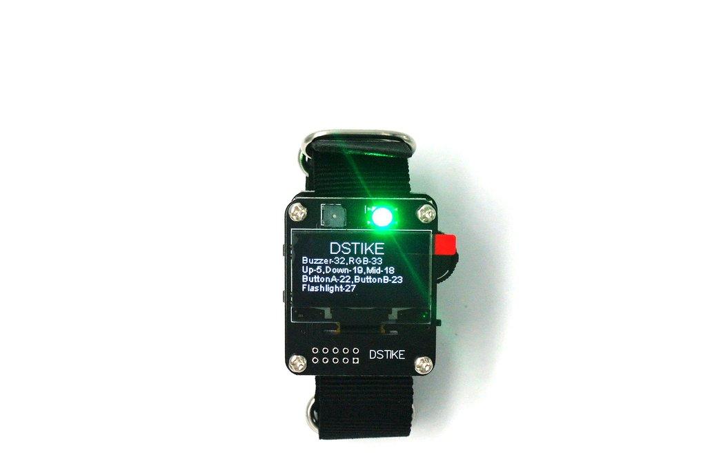 DSTIKE ESP32 Watch DevKit 1