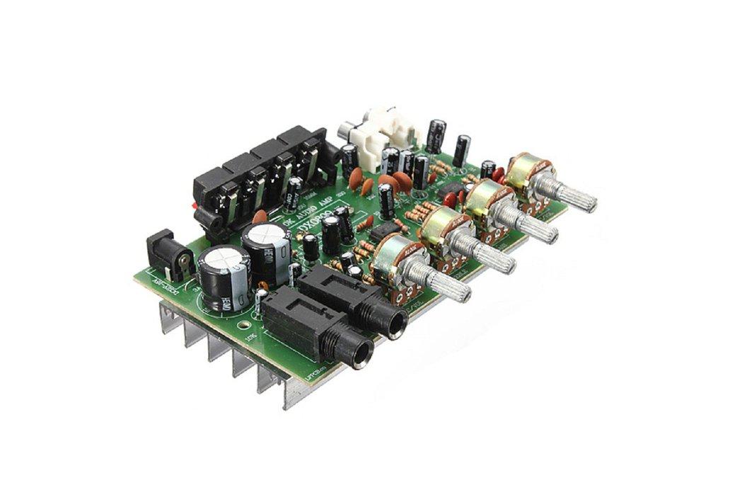 60W 12V Hi-Fi Digital Stereo Audio Amplifier 1