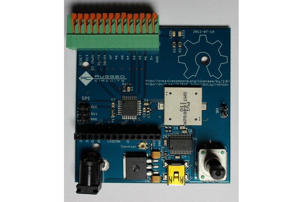 Robotic Minion Arduino All-In-One board 2