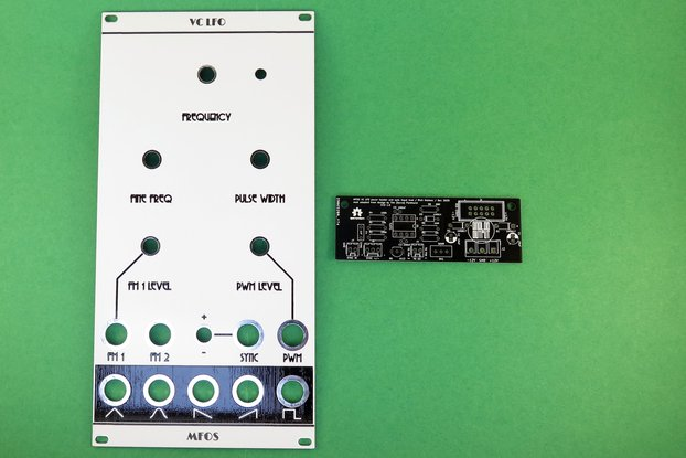 Analog Output panel and mod for MFOS LFO