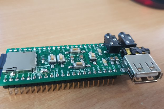 Assembled advanced breadboard adapter for BK3254