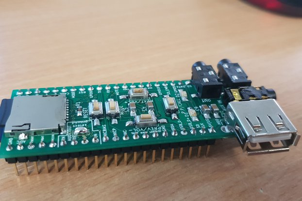 Assembled advanced breadboard adapter for BK3245