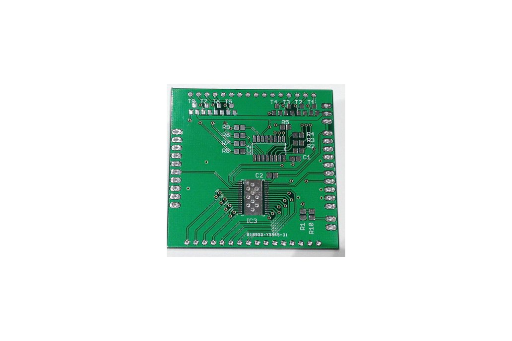 8x8 RGB Matrix Booster Pack PCB 3