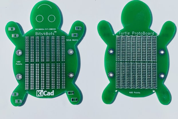 Prototype Board - 2 Piece - Turtle Solder Board