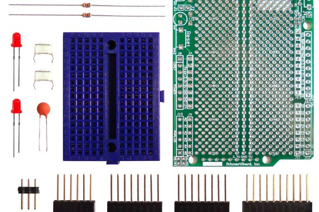 Through Hole Prototyping Shield for Arduino Uno
