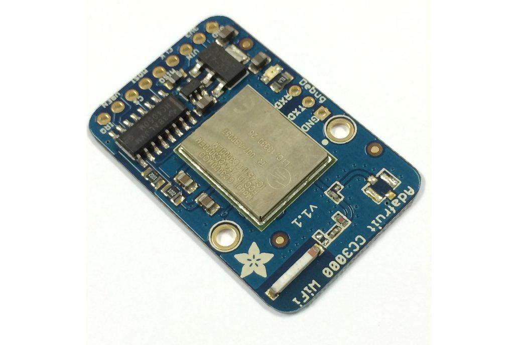 Adafruit HUZZAH CC3000 WiFi Breakout w/ Antenna 3
