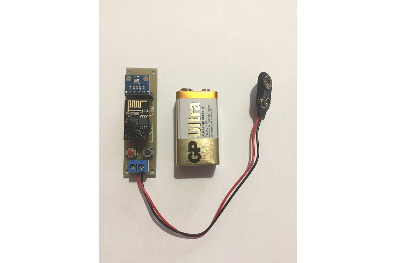Low Power Temperature and Pressure WiFi tracker s3