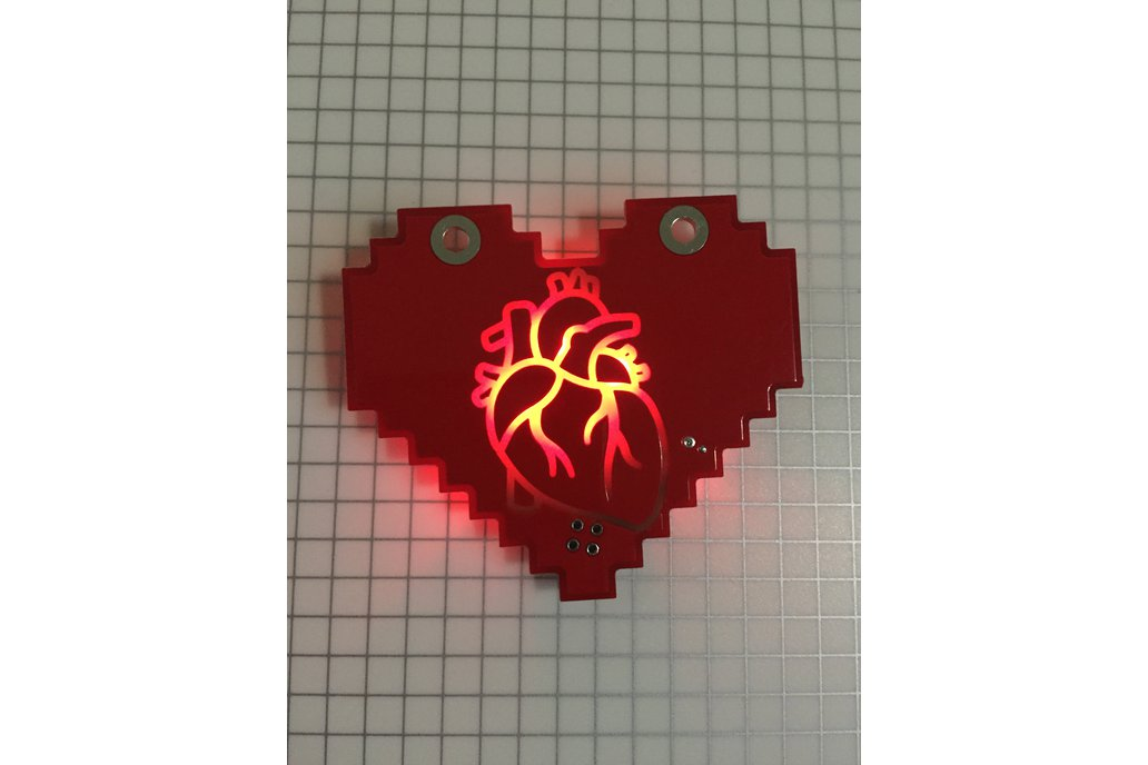 Hearty Backlit Badge 3