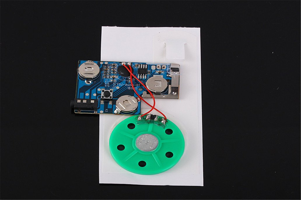 120S Greeting Card Recordable Voice Module (13420) 1