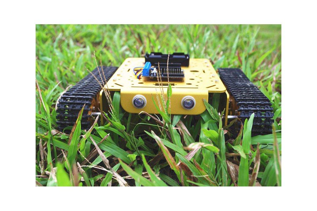 NodeMCU WiFi T200 Metal Tank Car Chassis Robot  1