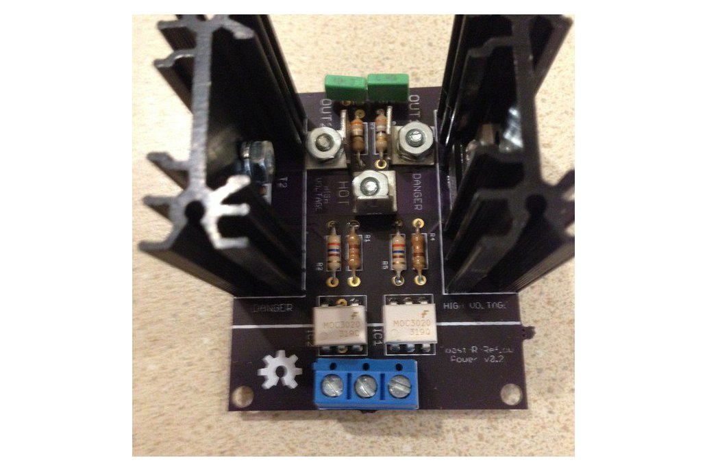 Toast-R-Reflow Power board kit 1
