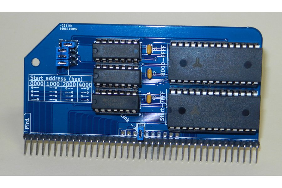 64K RAM Module For RC2014 - Z80 Homebrew Computer