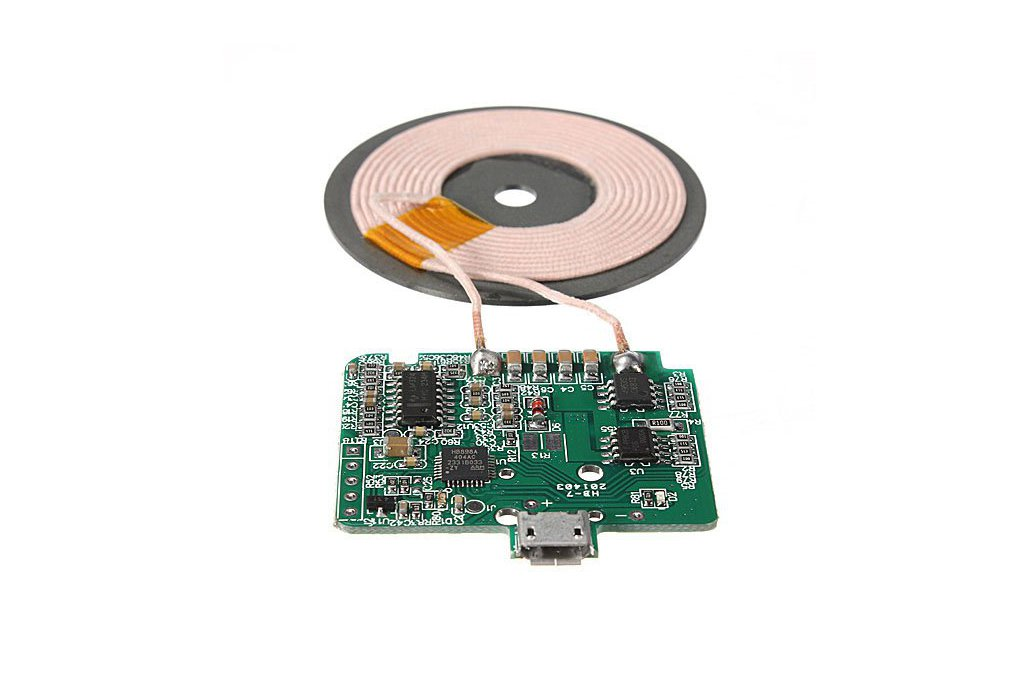 Wireless Coil Charger Circuit Board For Cell Phone 2