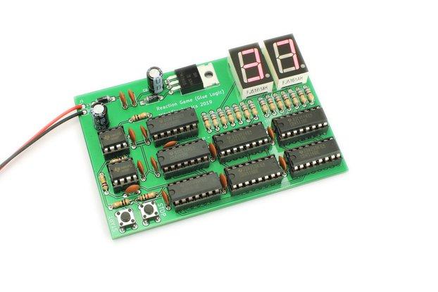 Reaction Tester - Electronic Kit