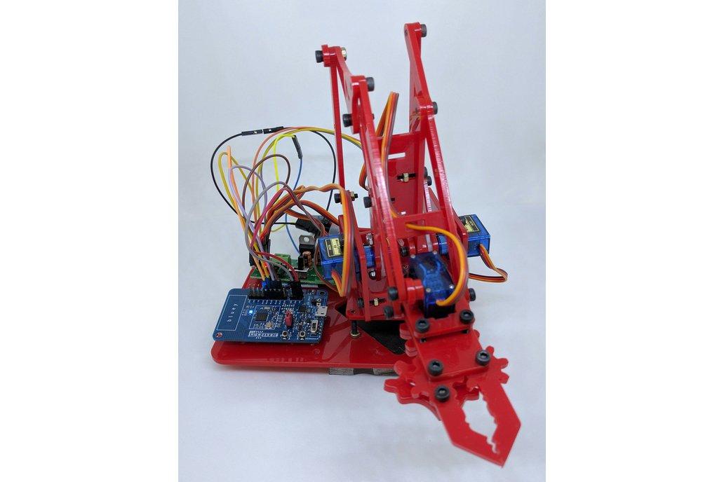 Bluey nRF52832 BLE development board 6