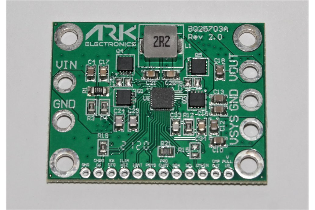 BQ25703A Programmable Regulator Module 1