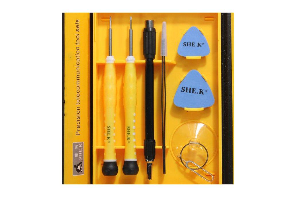 Professional Electronic Screwdriver Repair Kit 4