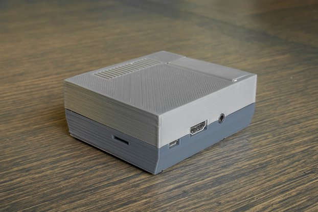 3D Printed NES Case for Raspberry Pi