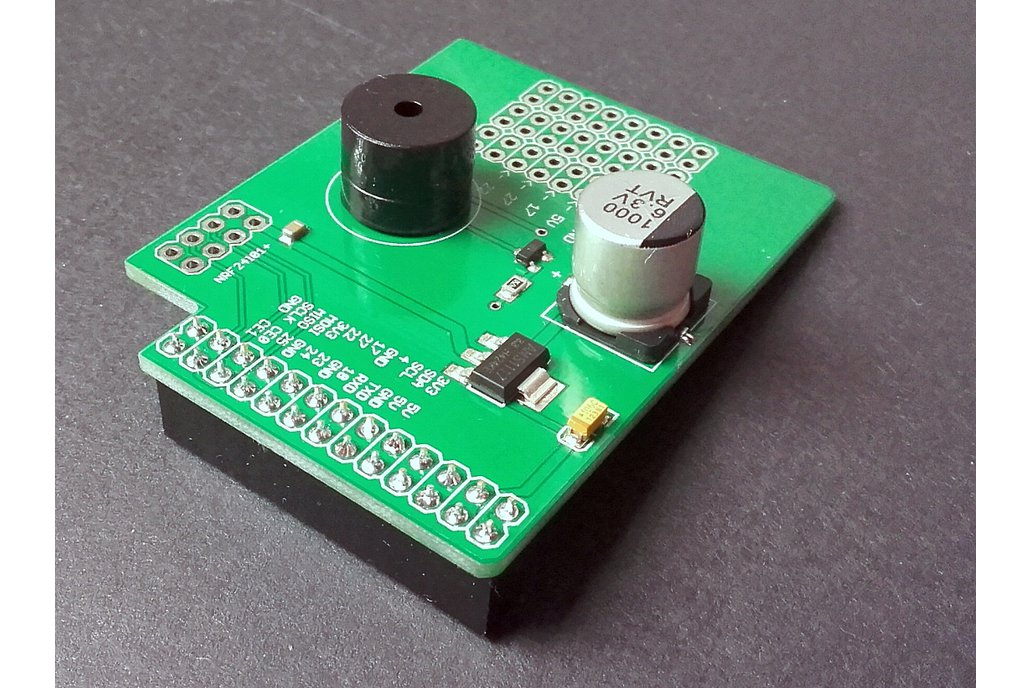 New Raspberry Pi to NRF24l01+ Shield 1