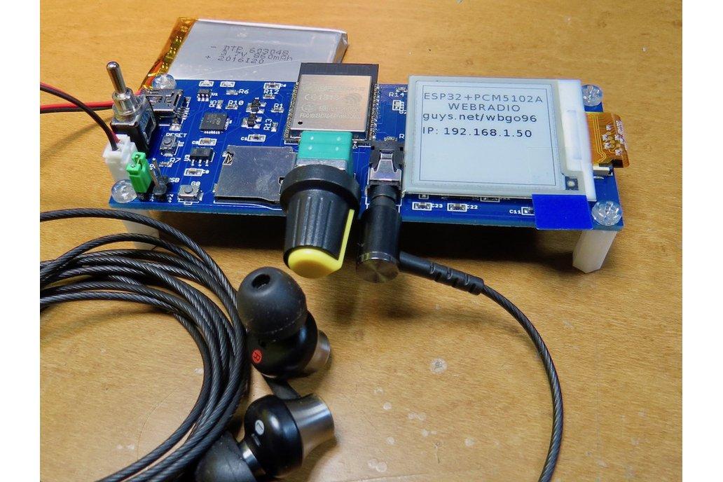 ePaper plus ESP32-ADB 6