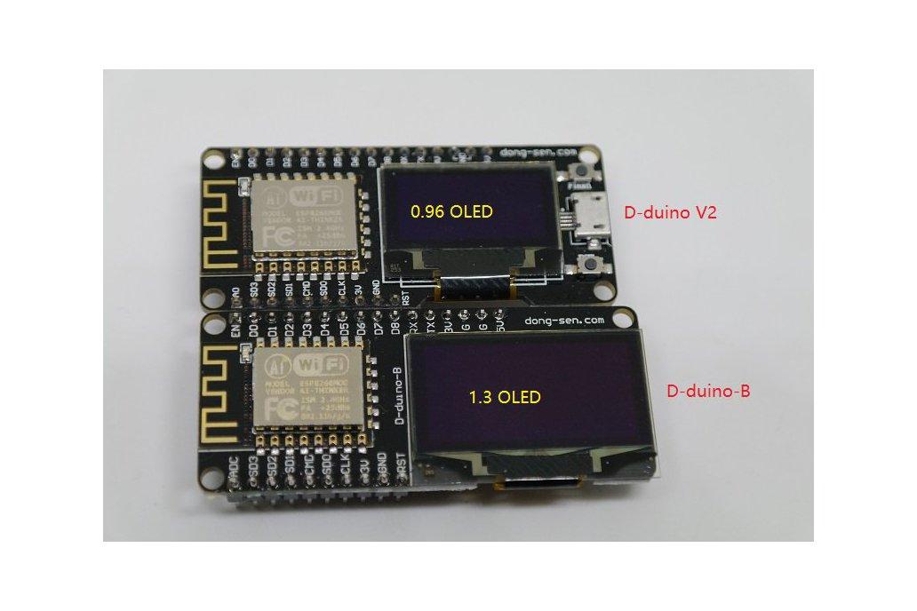 D-duino-B(Arduino&NodeMCU&ESP8266&1.3OLED) 4