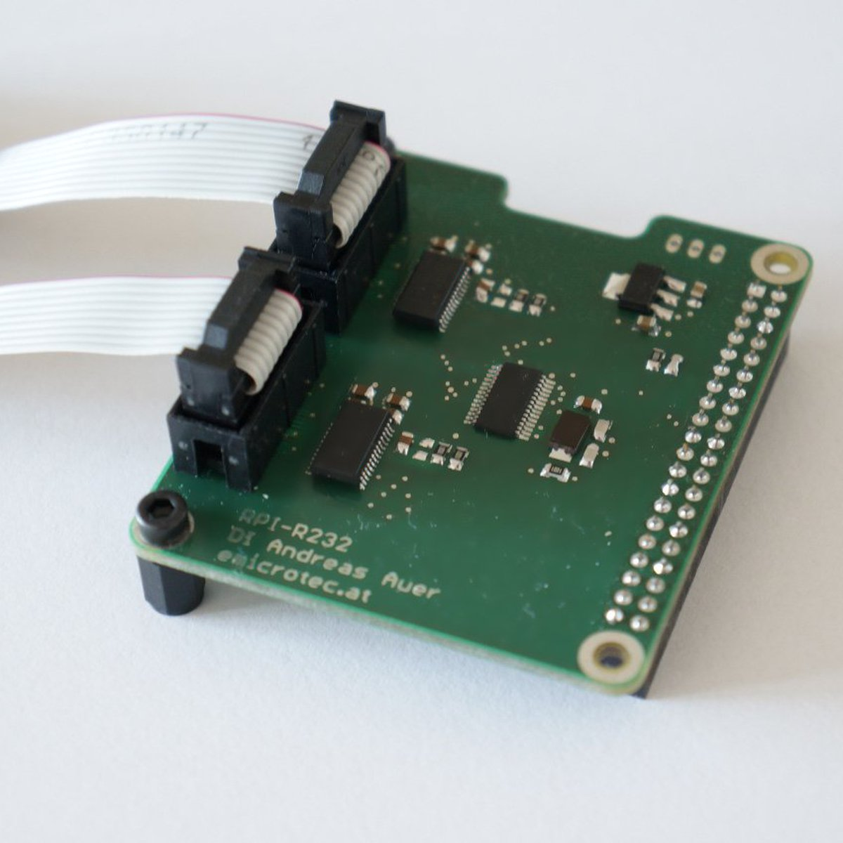 Raspberry Pi - Dual Serial Port Extension from Andreas Auer on Tindie