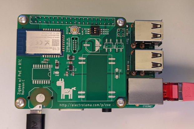 zoe Lite - Zigbee Radio for Raspberry Pi