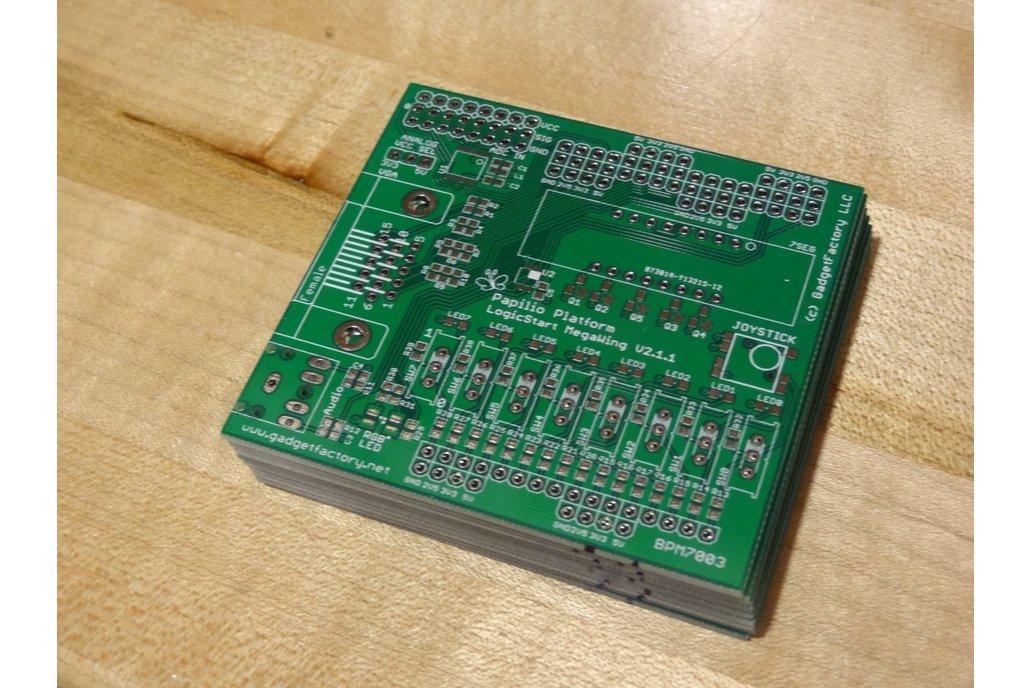 Papilio Platform Logicstart Megawing PCB Only 1