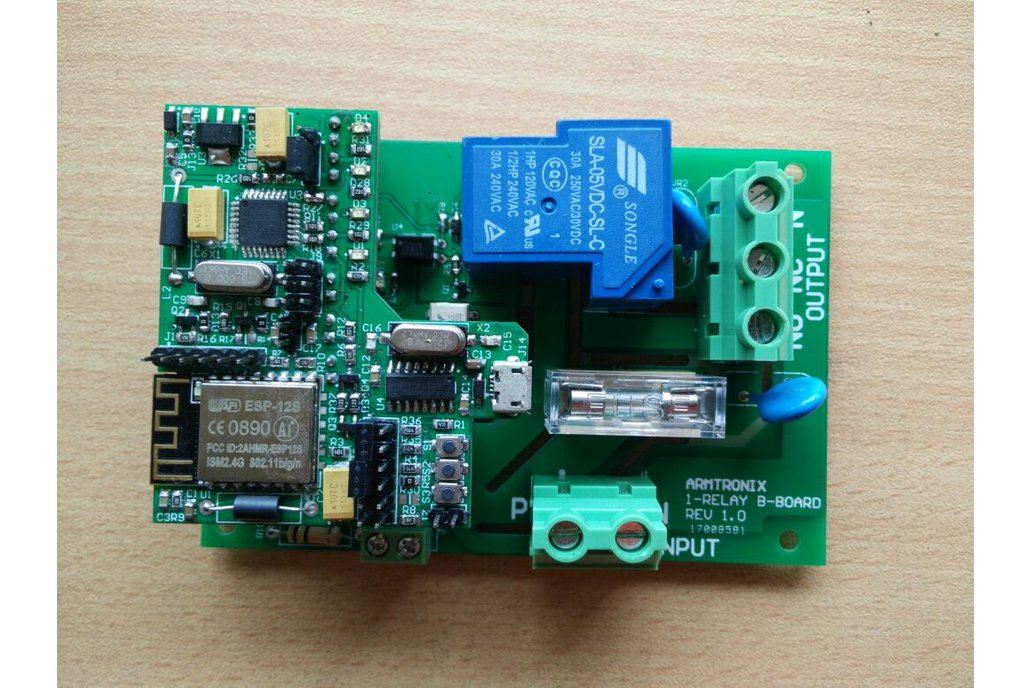 Wifi Heavy Duty Relay Board 3