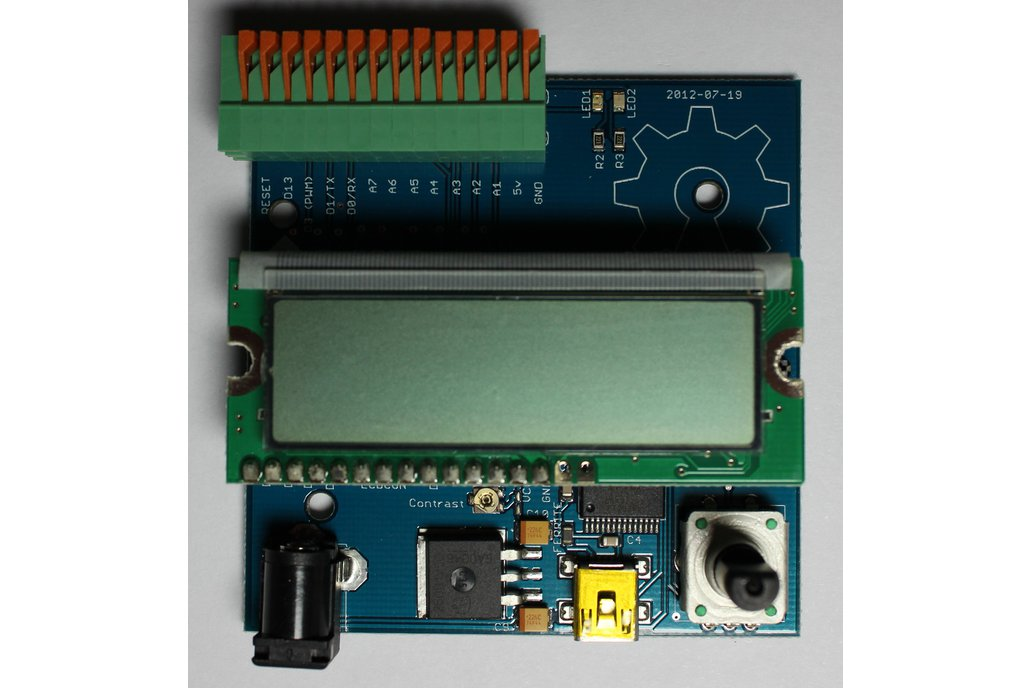 Robotic Minion Arduino All-In-One board 1