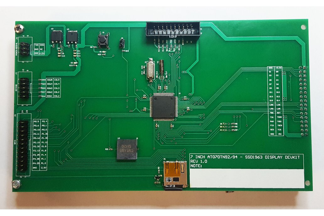 "LPC1768 Development board for 7"" SSD1963 display 1"