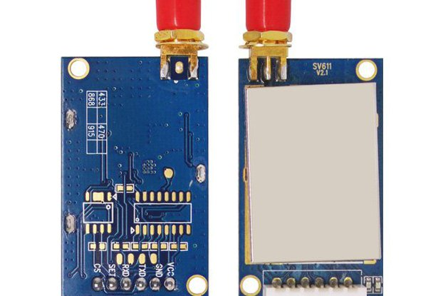 SV611 100mW 20dBm Wireless TransceiverModule
