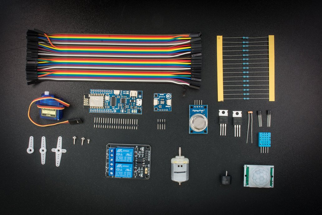 Croduino set for beginners(CSB) INTERNET OF THINGS 1