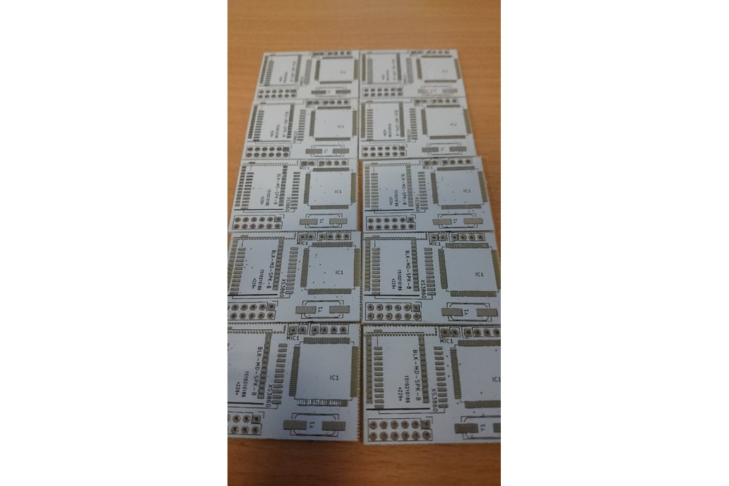 PCB for Ford cdemulator with bluetooth (FordACP) 1