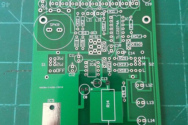 EDS Inc LeakSeeker 89 PCB
