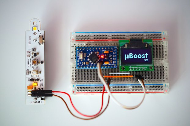 uBoost AA Battery 3.3v Power Supply Joule Thief