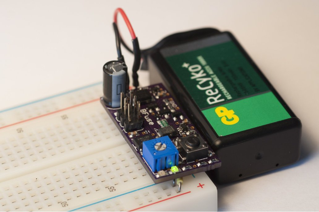 BFuse: The Breadboard Fuse 2