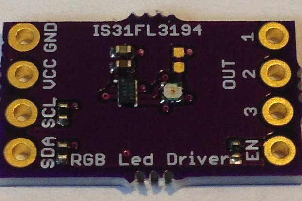 IS31FL3194 Programmable 3-Channel LED Driver