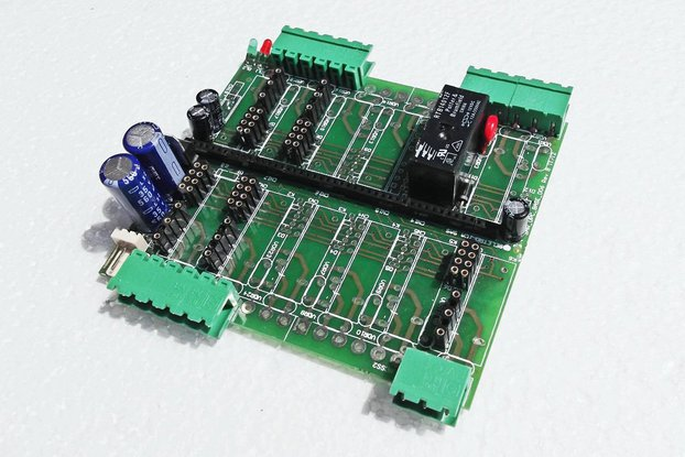 Base Board for Archimede and Archiduino systems