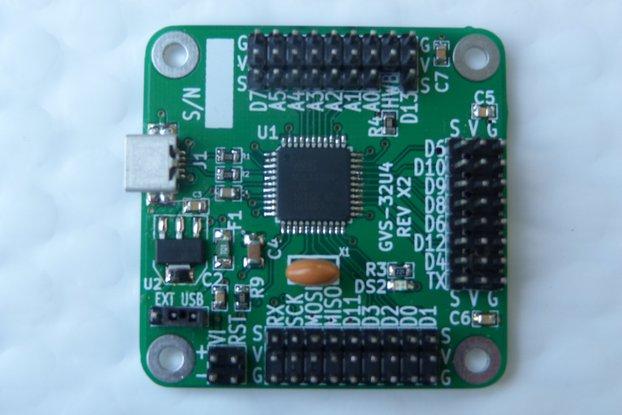 Arduino Leonardo compatible - GVS pins (GVS-32U4)