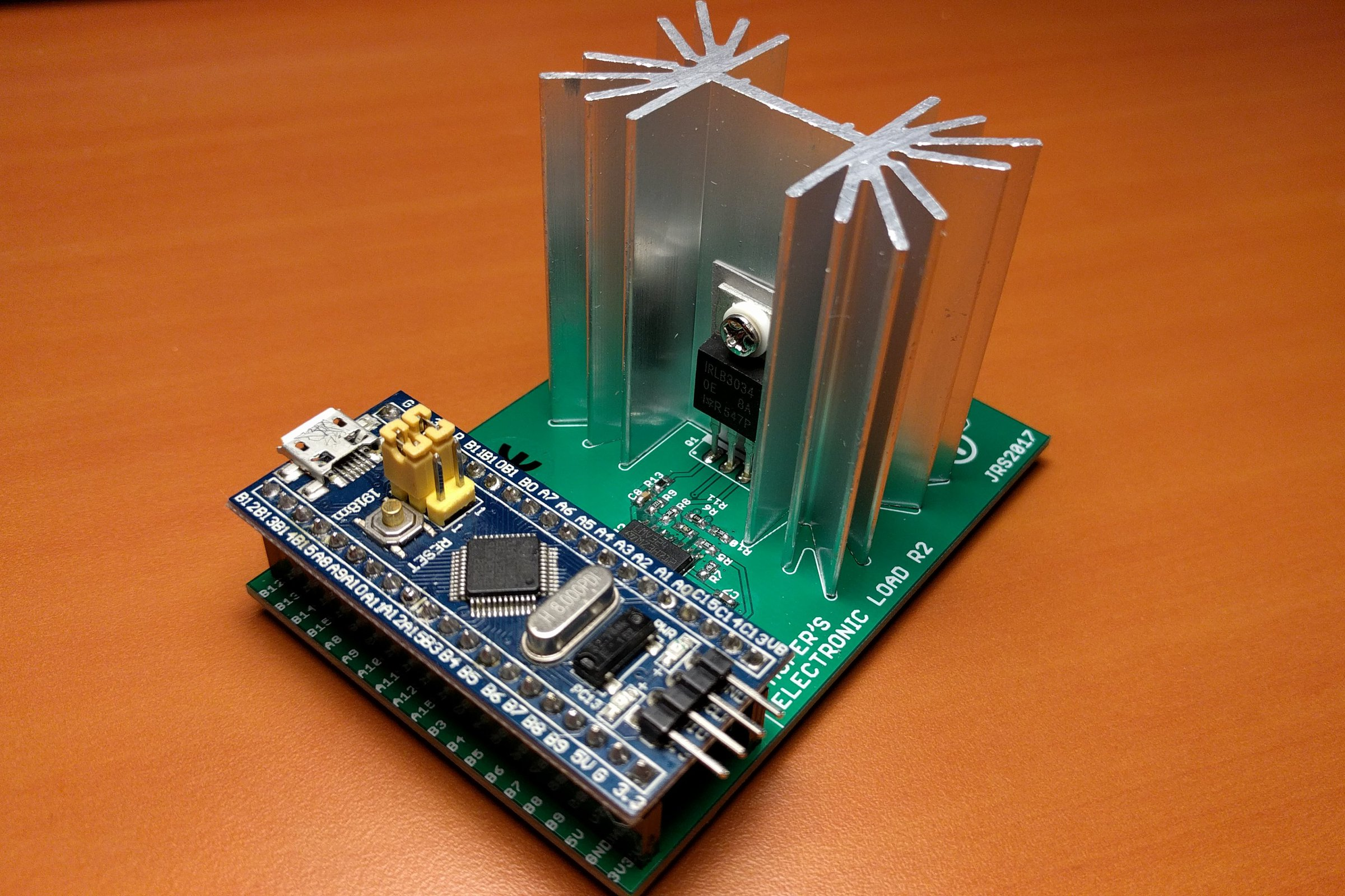 Arduino Electronic Load R2 From Jasper Sikken On Tindie Noninverting Amplifier Analog Integrated Circuits Electronics 2