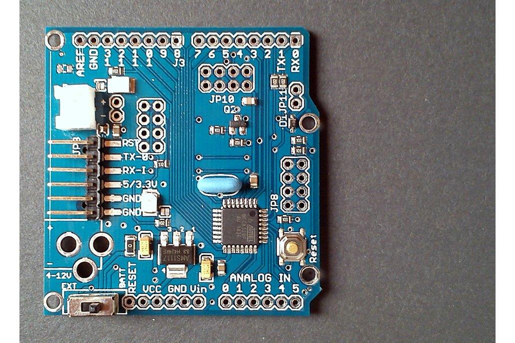 ATMega328p board w/ NRF24l01+  Arduino PRO format 1