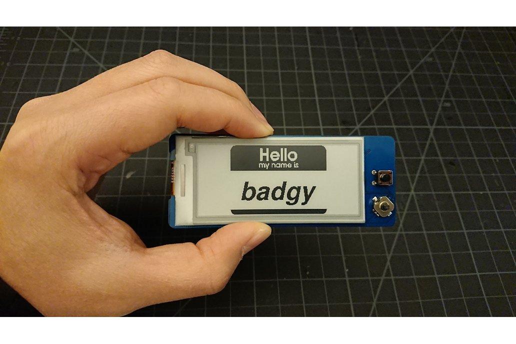 Badgy - IoT Badge 3